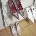 Полиця для взуття одинарна - Застосування в спальні