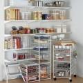 Колеса для стеллажа 4шт - Применение на кухне
