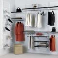 Штанги для вешалок и аксессуары - Применение в гардеробной