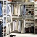 Кронштейн для проволочной полки - Применение в гардеробной