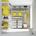 Полка-корзина - Применение в гардеробной