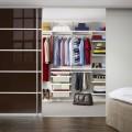 Навесная направляющая - Применение в гардеробной