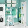 Корзины для направляющих (Ширина 435) - Применение в постирочнной, ванной