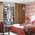 Декоративная вставка в рельс - Применение в спальне