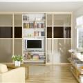 Выдвижная mesh-корзина (глубина 330мм) - Применение в гостиной