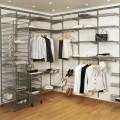 Разделитель для проволочной полки - Применение в гардеробной