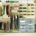 Настінна направляюча - Застосування в гардеробній