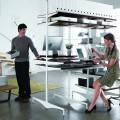 Опора з ніжкою - Застосування в офісі