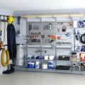 Круглый держатель - Применение в гаражe