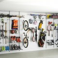 Вставка в кронштейн для колес - Применение в гаражe