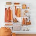Сітчата полиця - Застосування в гардеробній