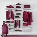 Декоративная вставка в рельс - Применение в гардеробной
