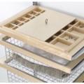 Роздільник для ящиків для аксесуарів на 8 ячеєк - Застосування в інтер'єрі