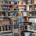 Корзины 54 см Standart (Глубина 527мм) для применения в стеллажах - Применение на кухне