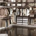 Висувна рама для кошиків - Застосування в гардеробній