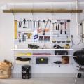 Сітчата полиця - Застосування в гаражe