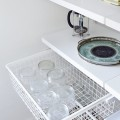 Выдвижная корзина в сборе с рамой (Глубина - 430мм) - Применение на кухне