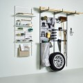 Двойний широкий гачок - Застосування в гаражe