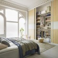 Верхний несущий рельс - Применение в спальне
