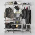 Направляющая двухсторонняя - Применение в гардеробной