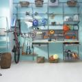 Крючок для велосипеда, горизонтальный - Применение в гаражe