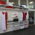 Боковина стелажа - Застосування в гардеробній