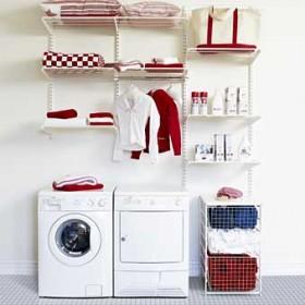 Зберігання речей в пральні