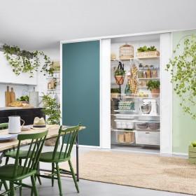Шкафы-купе на кухне