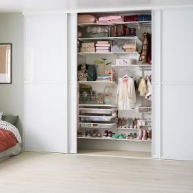 Детская комната, большой шкаф-купе