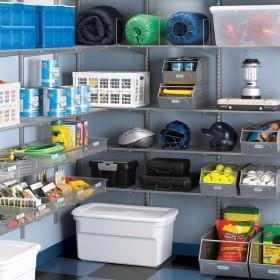 Организация хранения в гараже