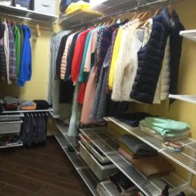 Примеры гардеробных