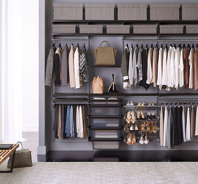 мебель для гардеробной с системой хранения Elfa