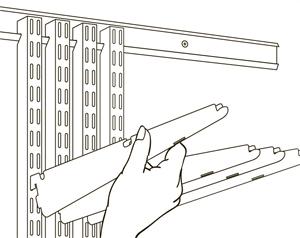 Монтаж навісної гардеробної системи Elfa