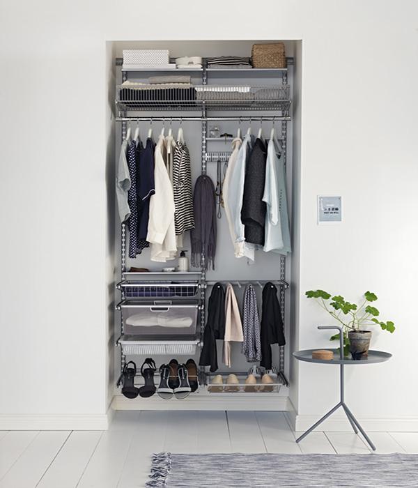 Зберігання взуття в шафі