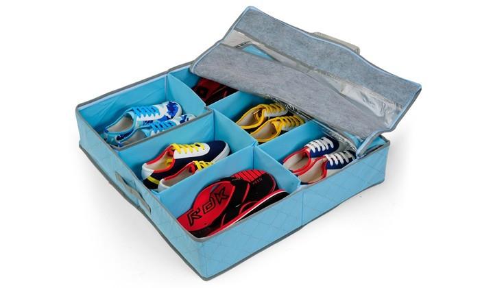 берігайте сезонне взуття під ліжком