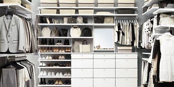 Мебель для гардеробной Elfa