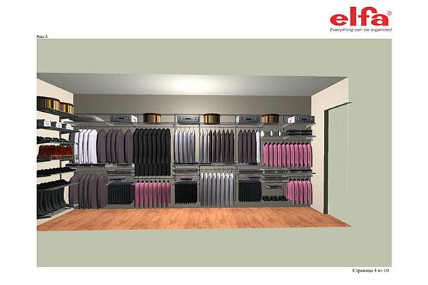 Мебель для гардеробной в спальне