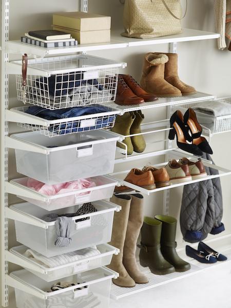 Організоване зберігання взуття