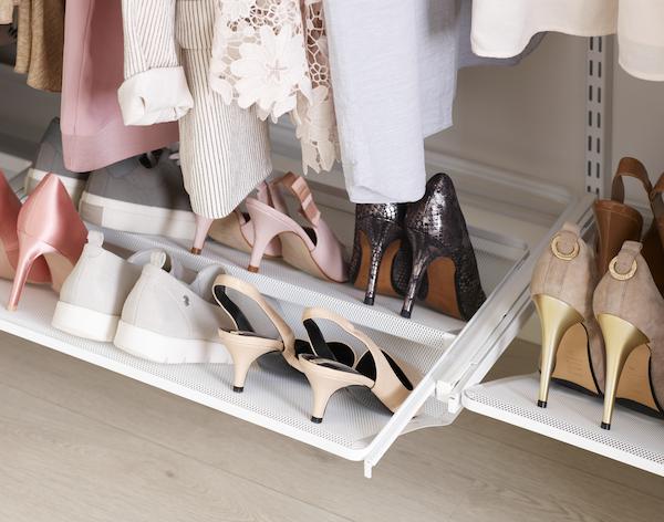 Универсальные меш-обувницы Elfa