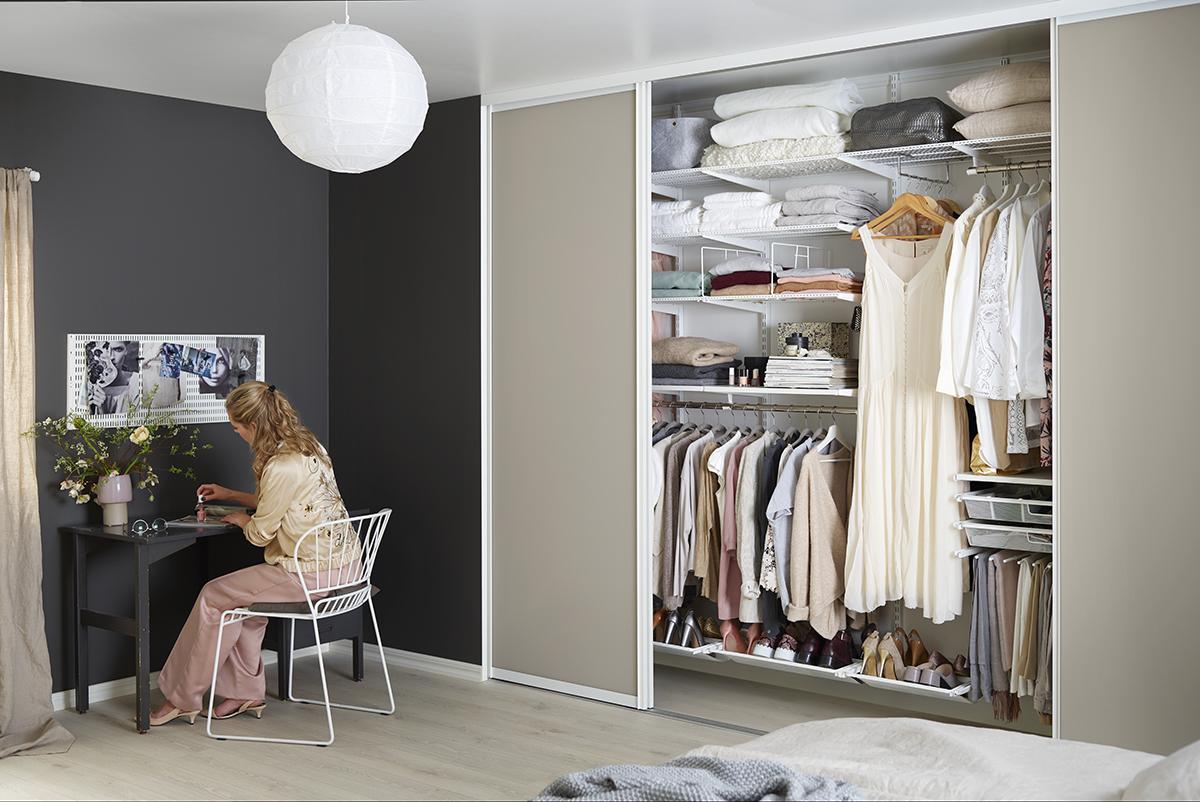 4 шага для организации порядка в гардеробной
