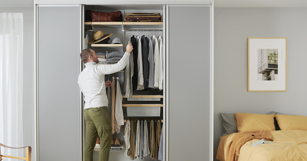 Как организовать хранение в шкафу-купе