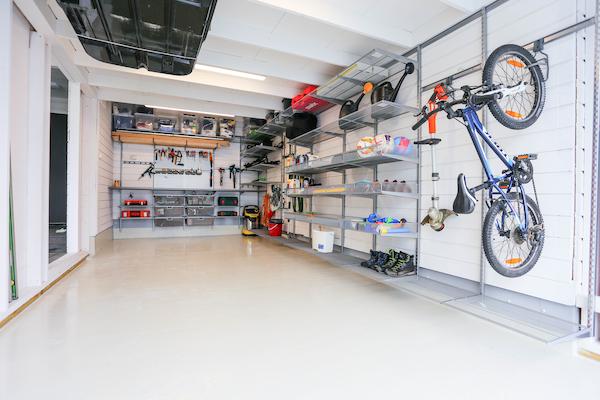Организуем порядок в гараже с системой хранения Elfa
