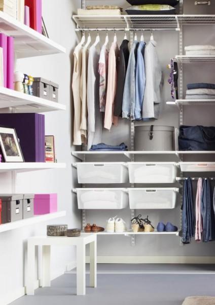 12 простих порад по організації зберігання в гардеробній