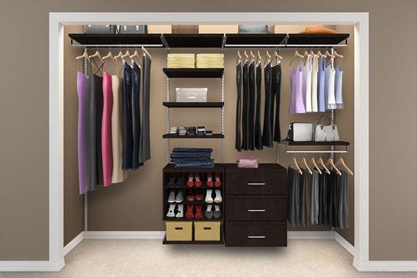 Приклади планування гардеробних кімнат