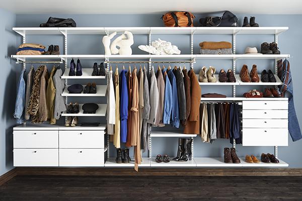 Як навести порядок у шафі та гардеробній?