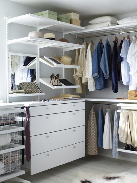 Меблі для гардеробної - нова філософія зберігання