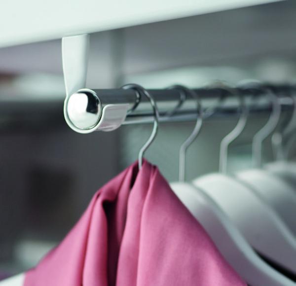 Організація зберігання у шафі та гардеробній