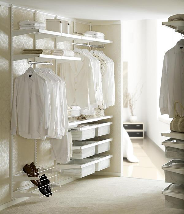 Функціональні меблі для гардеробної