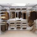 Штанги для вішаків та аксесуарів - Застосування в гардеробній