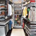 Висувна полиця для взуття з каблуком, 600мм, графіт - Застосування в гардеробній